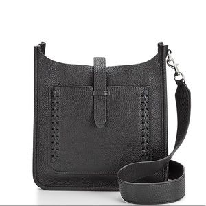 Mini Unlined Feed Bag With Whipstitch